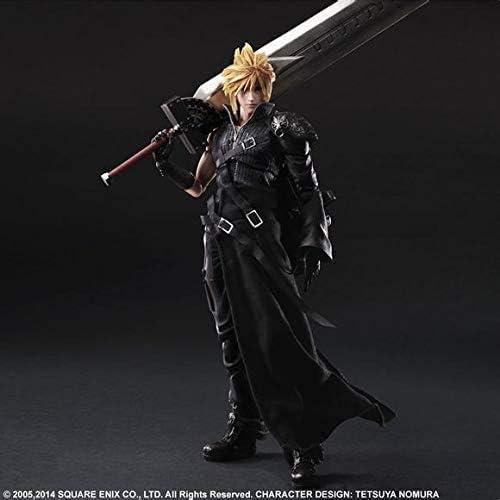 Final Fantasy VII Figure Cloud Strife Figure Beweegbare actiefiguur