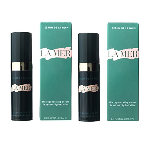 LA MER the Regenerating Serum Revitalizing Serum La Mer new formulas 5 ml. (2 boxes). (Regenerating Formula)