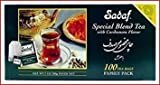 Sadaf 100 Count Special Blnd Tea with Cardamom Flavor