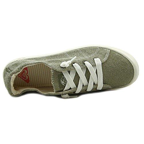 Roxy Womens Bayshore Slip On Scarpa Sneaker Oliva
