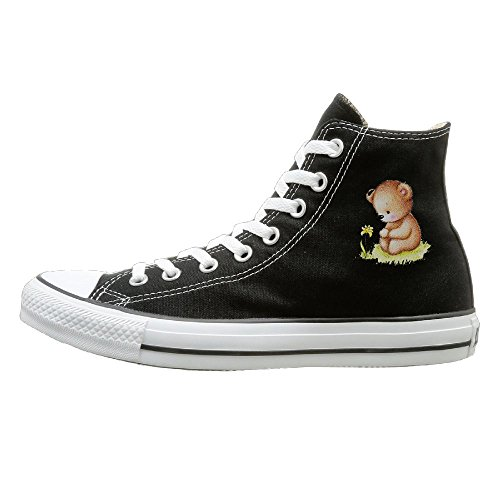 Halloween Baby Bear Unisex Lace-up Sneaker Flat High-Top Sport Walking Canvas Shoes (Halloween Safety Activities For Kindergarten)
