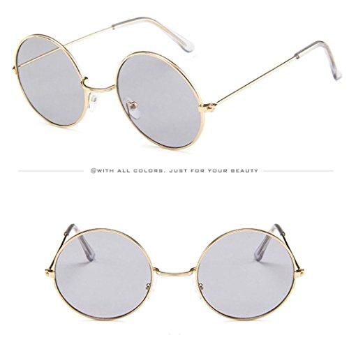 Hunpta Sol Círculos Gafas E de Gafas Sol de de con de Gafas A Unisex Sol Marco y qEqnr0wd