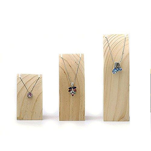 set-of-3pcs-wood-trapezoid-necklace-display-holder-chain-display-stand-wood-jewelry-display-stand