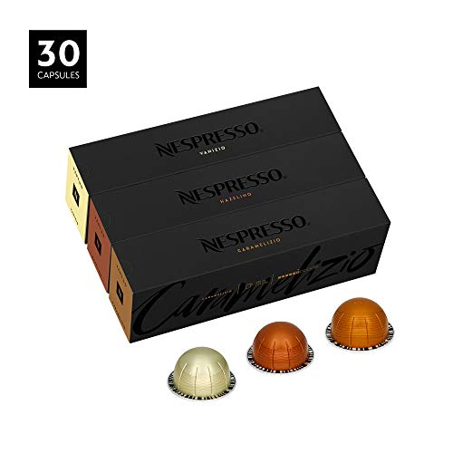 Nespresso VertuoLine Coffee, Flavored Assortment, 30 Capsules (Best Way To Store Bananas)