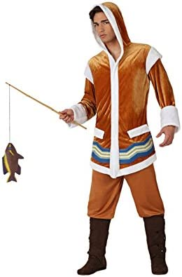 Atosa - Disfraz de esquimal para hombre, talla M/L (16452): Amazon ...
