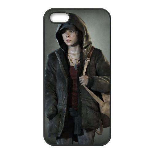 U7H88 delà de deux âmes G4J0JM coque iPhone 4 4s cellulaire cas de téléphone couvercle coque de FY8IYU8VF noir