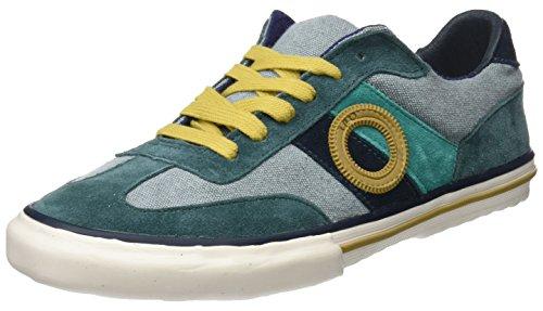 Multicolore Basses Aro Femme Sneakers Pol lagoon EUggxIq