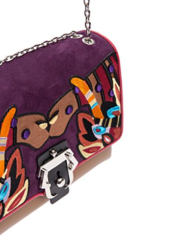 ALIFW17VTCAJPLF12 Mujer De Hombro Multicolor Bolso Cuero PAULA CADEMARTORI q16COwqE