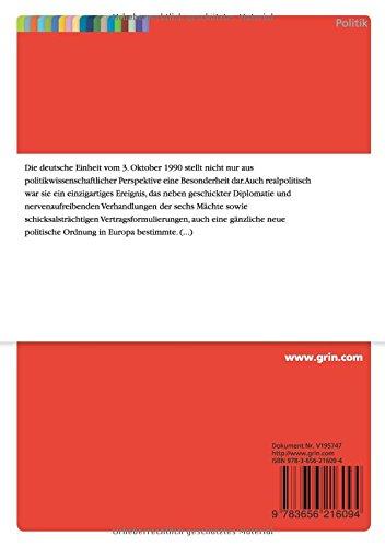 Strategieanalyse Der Deutschen Außenpolitik Die 24 Verhandlungen