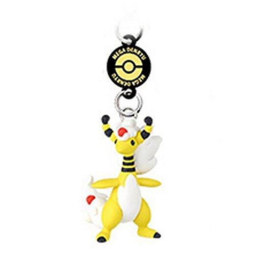 Pokemon XY DX01 Side X Netsuke Strap Figure Tomy - Mega Ampharos