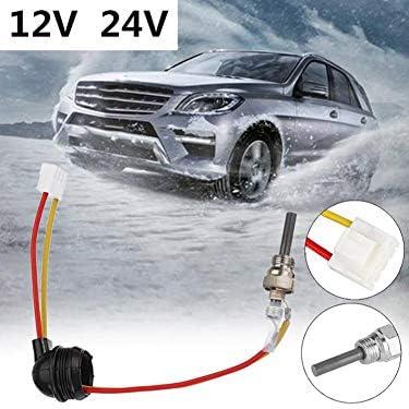 Sponsi Raccordi A Candela per Accensione per Riscaldatore di Parcheggio per Camion per Auto 12V24V 88-98W Candeletta Diesel Universale per Riscaldamento Aria