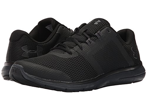 [UNDER ARMOUR(アンダーアーマー)] メンズランニングシューズ?スニーカー?靴 Micro G Fuel RN Fuse Black/Anthracite/Anthracite 12.5 (30.5cm) D - Medium