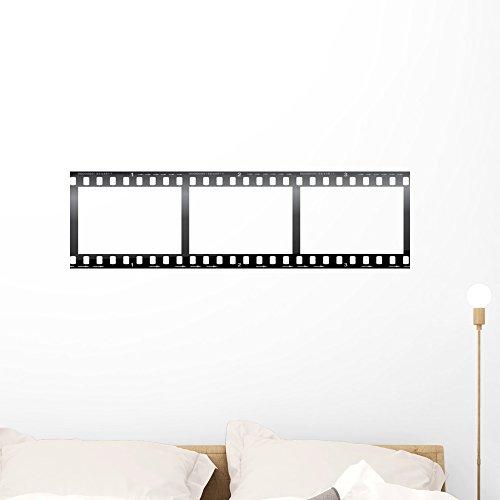 Film Roll Border - Camera Film Strip Blank Wall Mural by Wallmonkeys Peel and Stick Graphic (36 in W x 10 in H) WM211573