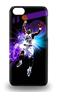 Premium Iphone NBA Utah Jazz Karl Malone #32 Case For Iphone 5c Eco Friendly Packaging