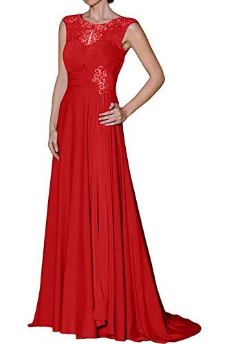 Linie mia A Neu Kleider 2018 Partykleider La Braut Rot Festlichkleider Brautmutterkleider Jugendweihe Abendkleider Lang 6dqw76g