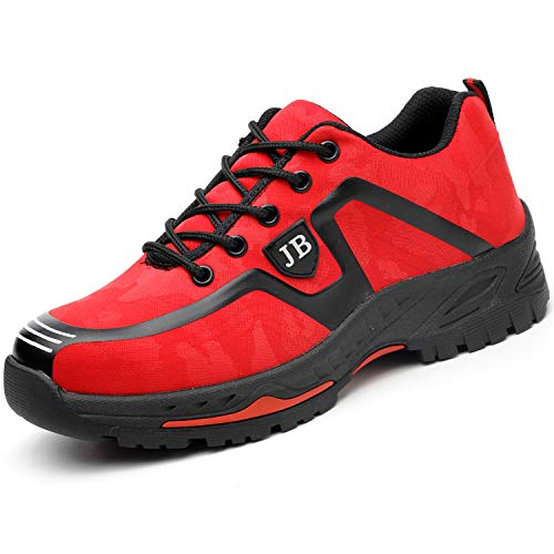 Red Protection Chaussure Homme Femme Securite S3 Semelle Coou De Basket Impermeable Confortable twvdOOaPxq