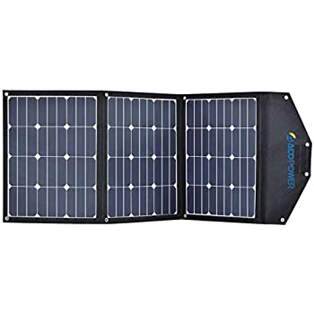 Image of Coolers ACOPOWER 3x30W 90W Portable Solar Panel; Foldable Solar Suitcase for Solar Generator, Solar Freezer w SUNPOWER Cell