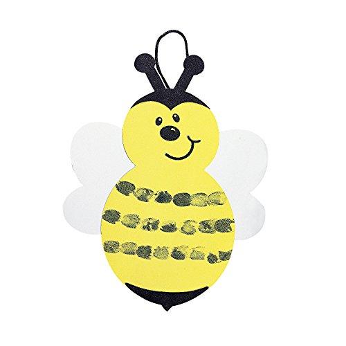 - Thumbprint Bumblebee Craft Kit - Crafts for Kids & Decoration Crafts