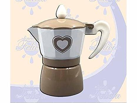 L. Corazón Cafetera 1 taza 094002: Amazon.es: Bebé
