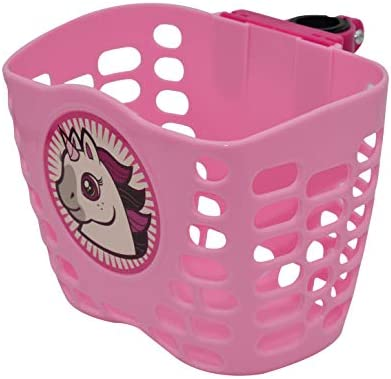 children/'s bike basket plastic bicycle bag kids scooter handle bar basket TSJKU