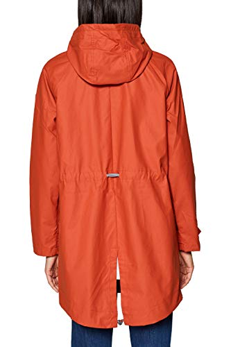 By red 825 Manteau Edc Orange Femme Esprit ZnnPp8f
