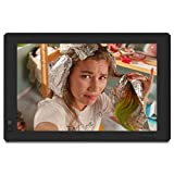 Nixplay Seed 13.3 Inch Digital WiFi Picture Frame with IPS Display, iPhone & Android App, Free 10GB Online Storage and Motion Sensor (Black)
