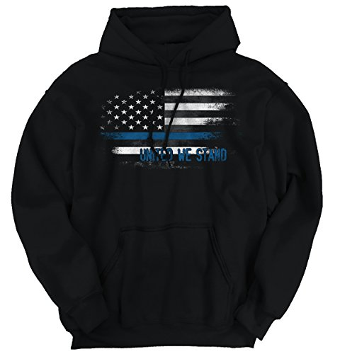 Pro Life Sweatshirt (Blue Lives Matter United Thin Blue Line Flag Police Support)