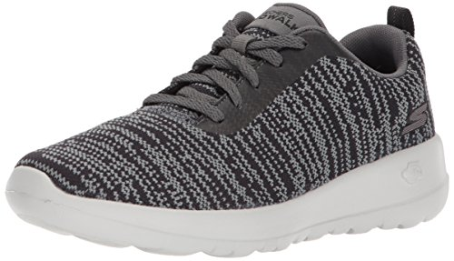 Joy Gris Femme charcoal black Baskets Skechers Go rapture Walk vxFwAw6qR