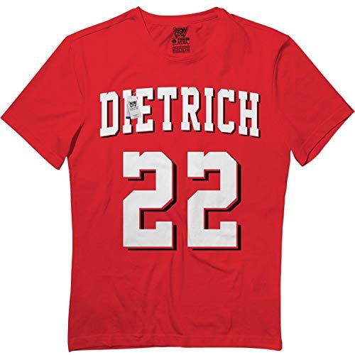 Springtee Derek-22 Jersey Baseball Cincinnati-Dietrich Kids Adults Tshirt Red