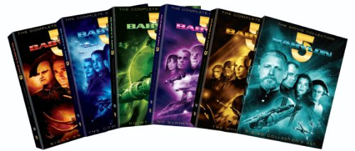 Babylon 5: Seasons 1-5 + Babylon 5: The Movie Collection