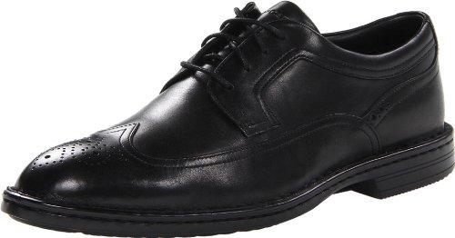 Rockport Men's Business Wingtip Oxford,Black,13 M US by Rockport