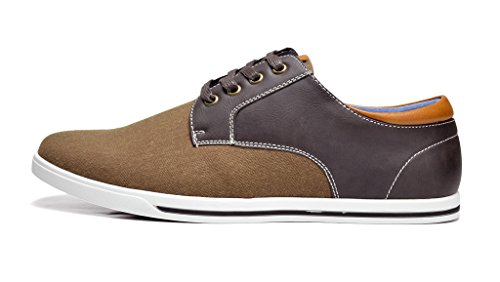 Bruno Marc New York Bruno Marc Heren Rivera Oxfords Schoenen Sneakers Donkerbruin