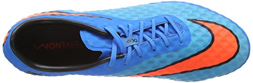 Nike HYPERVENOM Phantom FG Herren Fußballschuhe Blau (Clrwtr/Ttl Crmsn-Bl Lgn-Blck 484)
