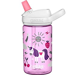 CamelBak Eddy+ Kids BPA-Free Water Bottle with Straw, 14oz (2282501040)