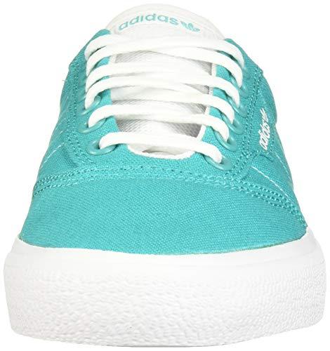 adidas Originals 3MC Sneaker, hi-res Aqua/White/White, 6.5 M US
