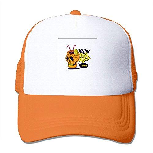 Mens Adjustable Hat Drink Pineapple