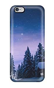 TYH - Best For Iphone 6 plus 5.5 Tpu Phone Case Cover(winter) phone case