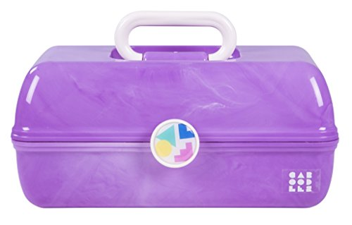 Caboodles On-the-Go Girl Purple Marble Vintage Case, 1 Pound by Caboodles