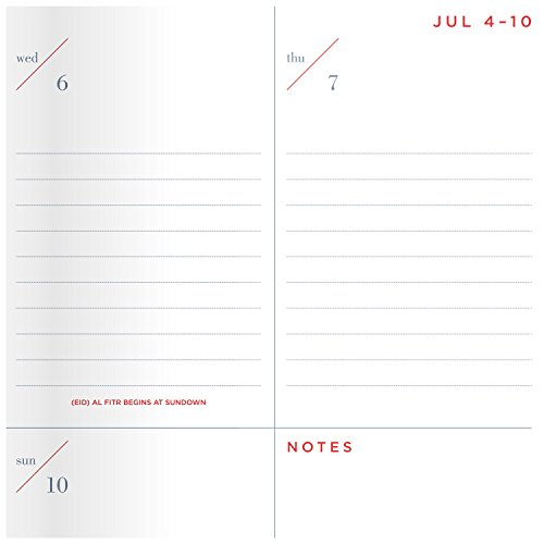 30 off at a glance academic year weekly monthly planner