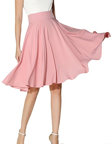 Chiffon Knee Length Skirt - 5