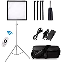 SAMTIAN FL-3030 Flexible Camera/Camcorder Led Photography Video Light Panel with Flexible LED Cloth Lamp Panel 30X30cm 5600K with 2.4G Remote Control for Video Shooting
