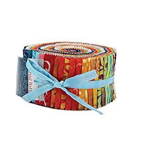 Rosewood Jelly Roll 44180JR Quilting Patchwork Fabric