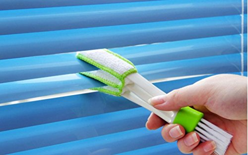Sujing Air-condition Cleaner Computer Clean Tools Window Leaves Blinds Cleaner Duster Pocket Brush Keyboard Dust Collector by Sujing (Image #1)