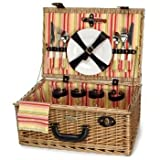 Willow Picnic Basket from Picnic and Beyond For Sale