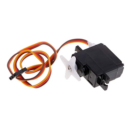 - Flameer RC Speed Boat Steering Servo Replacement for Feilun FT012 Spare Part, Black