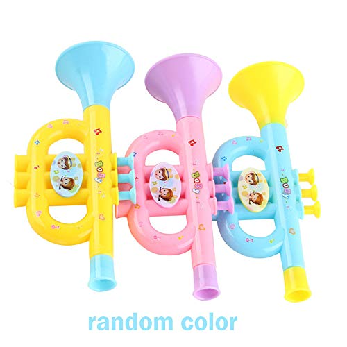 Euone Toys Clearance , Colorful Baby Kids Horn Hooter Trumpet Instruments Music Toy Gifts -