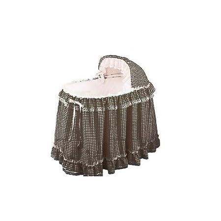 Babydoll Gingham Liner/Skirt and Hood, Pink, 17 x 31 17 x 31 009243127543