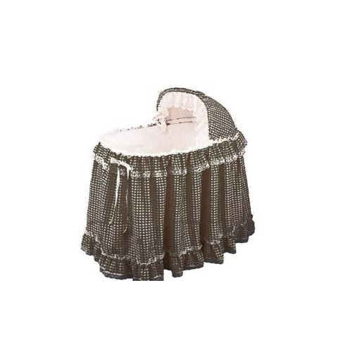 Babydoll Gingham Liner/Skirt and Hood, Lavender, 16