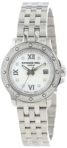 Raymond Weil Women's 5399-STS-00995 Tango Stainless Steel Mother-Of-Pearl Diamond Bezel and Dial ()
