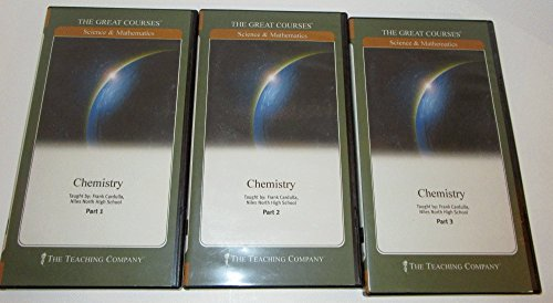 Chemistry (The Great Courses: Science and Mathmatics), Complete set on DVD